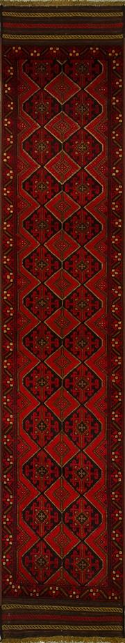 Sale 8424C - Lot 76 - Persian Sumak Runner 360cm x 63cm