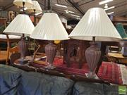Sale 8431 - Lot 1032 - Set of 4 Large Table Lamps