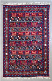 Sale 8480C - Lot 72 - Kashmiri Silk Tapestry 200cm x 120cm