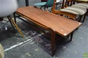 Sale 8550 - Lot 1018 - Teak Coffee Table by Heals of London