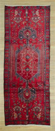 Sale 8585C - Lot 89 - Persian Hamadan Runner 290cm x 115cm