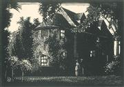 Sale 8896A - Lot 5013 - Lewis Roy Davies (1897 - 1979) - Untitled (Residence) 7 x 10 cm
