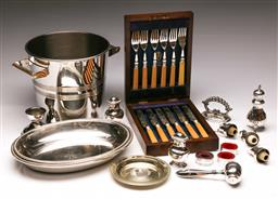 Sale 9136 - Lot 290 - Box of silverplated wares