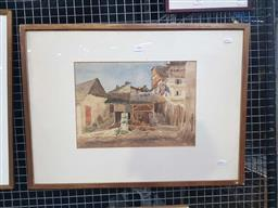 Sale 9159 - Lot 2006 - H Terry Charney, France, 1959, watercolour, frame: 48 x 65 cm, signed and dated lower left -