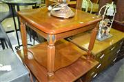Sale 8093 - Lot 1407 - Timber Coffee Table