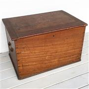 Sale 8878T - Lot 35 - Cedar Oversided Document Box Dimensions - 55cm x 36cm x 36cm