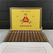 Sale 9079W - Lot 813 - Montecristo No.4 Cuban Cigars - box of 25, stamped May 2016