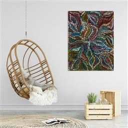 Sale 9148A - Lot 5008 - ROSEMARY (PITJARA) PETYARRE (c1965 - ) Yam Leaf Dreaming acrylic on canvas 120 x 91 cm (stretched and ready to hang) signed verso; c...