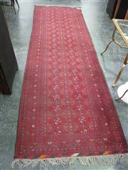 Sale 7972A - Lot 1049 - Persian Rug on Red Ground (300x90cm)