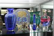 Sale 8116 - Lot 23 - Rosenthal Glass Plate with Other Art Glass including Vases & Baskets
