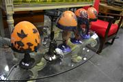 Sale 8134 - Lot 1033 - 4 Mushroom Form Lamps and another