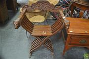 Sale 8299 - Lot 1074 - Savonarola Chair