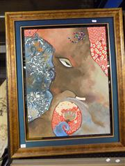 Sale 8441T - Lot 2067 - Artist Unknown - Framed Original Painting