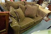 Sale 8532 - Lot 1411 - American Fabric 2 Seater Lounge
