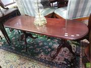 Sale 8566 - Lot 1204 - Timber Coffee table (118)