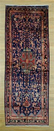 Sale 8585C - Lot 91 - Persian Hamadan Runner 310cm x 110cm