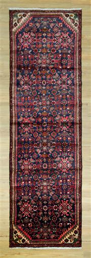 Sale 8589C - Lot 28 - Persian Hamadan Runner, 295x90