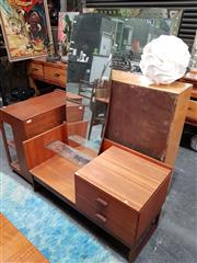 Sale 8643 - Lot 1072 - G Plan Teak Quadrille Dressing Table with long mirror