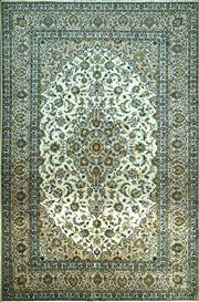 Sale 8307A - Lot 90 - Persian Kashan 365cm x 235cm RRP $4000