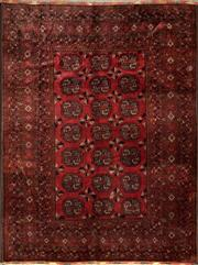 Sale 8335C - Lot 92 - Approx. 60 Years Old Afghan Qunduzi 260cm x 330cm