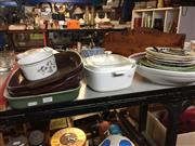 Sale 8659 - Lot 2427 - Collection of Ceramics incl Cabinet Plates & Kitchenwares
