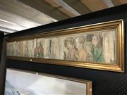 Sale 8750 - Lot 2055 - Hand Coloured Lithograph, Partly with Medieval Theme