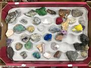 Sale 8817 - Lot 1074 - Tray of Crystals and Minerals