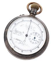 Sale 8905J - Lot 353 - A DOUBLE SIDED SILVER POCKET WATCH MADE FOR THE CHINESE MARKET; one side with white dial marked J. Ullman & Co. Hong-Kong & Shanghai...