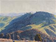 Sale 9084A - Lot 5002 - Warwick Fuller (1948 - ) - Tinkers Hill Shadows 44.5 x 59.5 cm (frame: 68 x 82 x 4 cm)