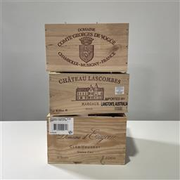 Sale 9257W - Lot 987 - French Timber Wines Boxes for Lascombe, dEugenie & Georges de Vogue (3)