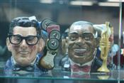 Sale 7875 - Lot 3 - Royal Doulton Toby Jugs Louis Armstrong & Buddy Holly