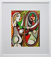 Sale 8019A - Lot 29 - Pablo Picasso (1881 - 1973) After. - Girl Before A Mirror 61 x 50cm (frame 98 x 88cm)