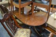 Sale 8019 - Lot 1087 - Extension Timber Dining Table