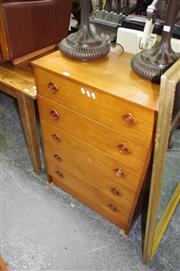 Sale 8115 - Lot 1457 - Macintosh Chest of 5 Drawers (Needs Restoration)