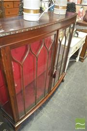 Sale 8272 - Lot 1097 - Mahogany China Cabinet