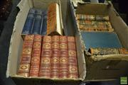 Sale 8362 - Lot 2380 - 3 Boxes of Vintage Books incl. Hutchinsons The Story of the British Nation; Cassells History of England; Time Life, The Seafare...