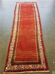 Sale 8566 - Lot 1344 - Persian Turkoman Runner (322 x 110)
