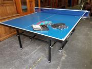 Sale 8740 - Lot 1192 - STIGA Table Tennis Table with Accessories