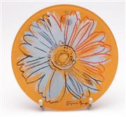 Sale 9057 - Lot 88 - Rosenthal Andy Warhol Glass Plate Dia 20cm (some slight scratches)