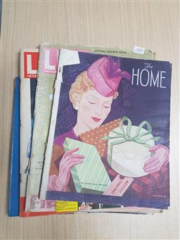 Sale 9152 - Lot 2400 - Group of Magazines incl. The Home, Life, etc
