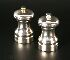 Sale 3650 - Lot 61 - A PAIR OF MODERN SALT AND PEPPER GRINDERS