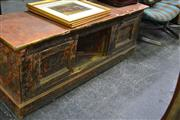 Sale 8013 - Lot 1467 - Low Lying Rustic Timber Cabinet