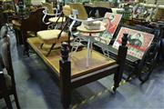 Sale 8124 - Lot 1085 - Timber Single Bed