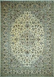 Sale 8307A - Lot 91 - Persian Kashan 345cm x 245cm RRP $4000