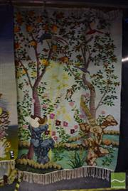 Sale 8532 - Lot 1156 - Egyptian Hand Made Rug Depicting Forest Scenes (235 x 176cm)