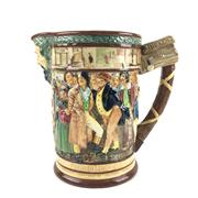 Sale 8545N - Lot 50 - Royal Doulton Loving Jug The Dickens Jug, 92/1000 (H: 28cm)