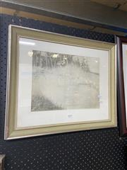 Sale 8874 - Lot 2019 - Artist Unknown - Pencil Of Nymphs By the Lake- SLL