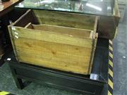 Sale 7974A - Lot 1016 - Collection of Four Timber Crates w Two Timber Boxes