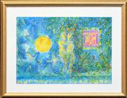Sale 8257A - Lot 96 - Cassandra Boyd (1956 - ) - Adam and Eve in Paradise 35 x 50 cm