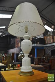 Sale 8386 - Lot 1098 - Pair of Ceramic Table Lamps